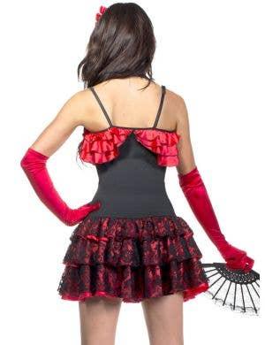 Spanish Flamenco Sexy Senorita Women's Deluxe Costume