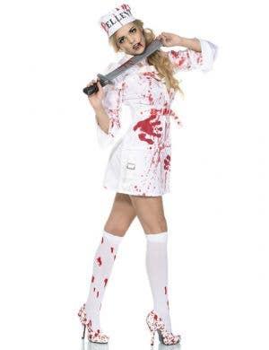 Bellevue Runaway Women's Halloween Zombie Costume