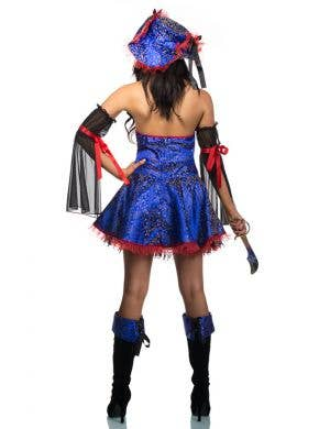 Buccaneer Women's Blue Bounty Pirate Wench Costume