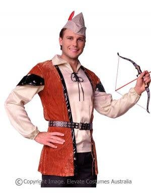 Forest Huntsman Men's Fancy Dress Costume