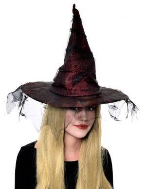 Tatty Halloween Wicked Witch Costume Hat