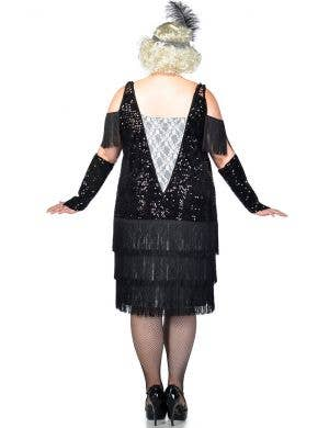 Gatsby Girl Deluxe Plus Size 1920's Flapper Costume
