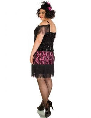 Miss Viola Plus Size 1920's  Deluxe Flapper Costume