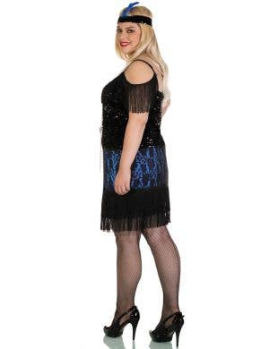 ... 1920u0027s Miss Elsie Plus Size Flapper Costume  sc 1 st  Heaven Costumes : plus size costumes 4x 5x  - Germanpascual.Com