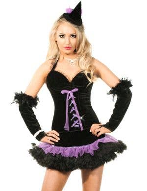 Flirty Tutu Witch Sexy Women's Halloween Costume