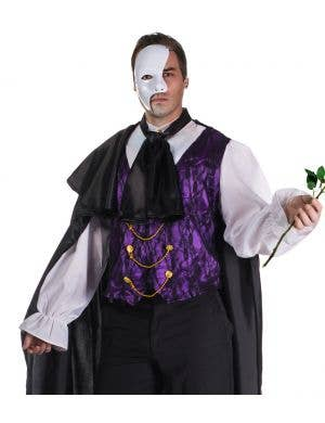 Phantom Of The Opera Plus Size Men's Halloween Costume