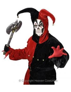Malevolent Jester - Plus Size Men's Halloween Costume