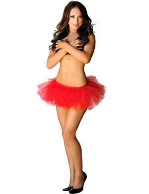 Adorable Fluffy Tutu Skirt in Red