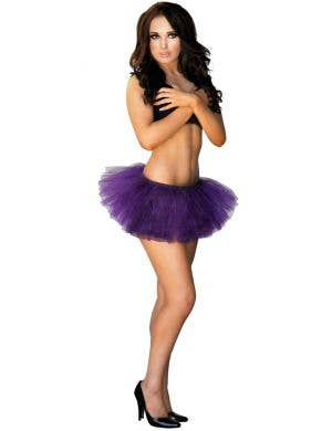 Adorable Fluffy Tutu Skirt in Purple
