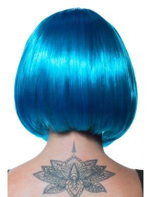 Eden Electric Blue Bob Women's Costume Wig
