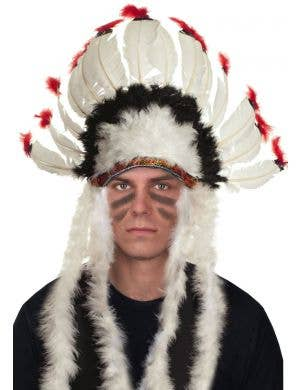 American Indian Chief Feathered Headdress