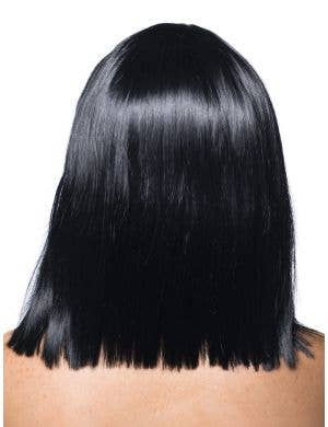 Deluxe Crystal Bob Wig in Black