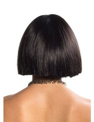 Cleo Blunt Cut Black Bob Deluxe Fashion Wig