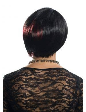 Lorna Red and Black Deluxe Fashion Wig