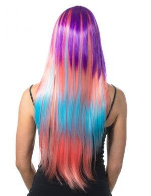 Ashlin Long Deluxe Rainbow Wig