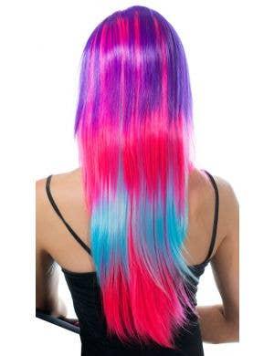 Asha Razor Cut Deluxe Rainbow Wig