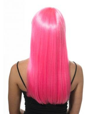 Izzy Women's Long Deluxe Pink Fashion Wig