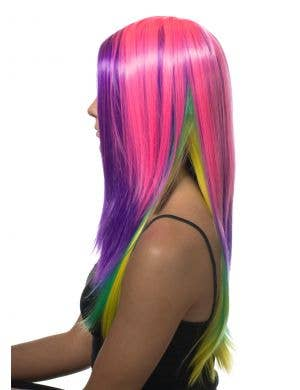 Breena Long Rainbow Deluxe Fashion Wig