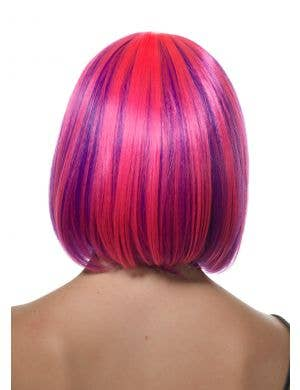 Lola Pink and Purple Two-Toned Bob Wig
