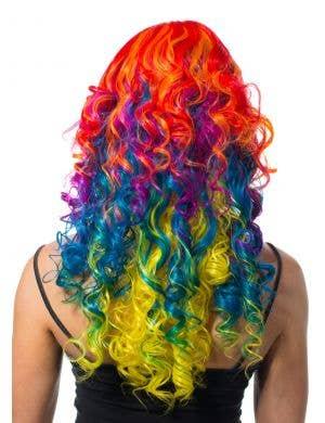 Ali Rainbow Curls Deluxe Women's Wig