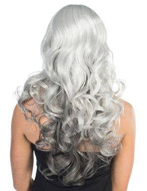 Ada Deluxe Grey Curly Fashion Wig