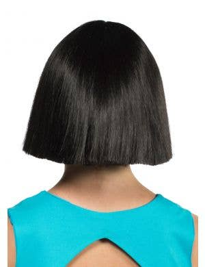 Amara Deluxe Short Black Blunt Cut Wig