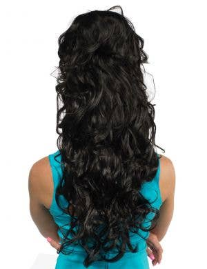Amy Deluxe Black Curly Beehive Fashion Wig