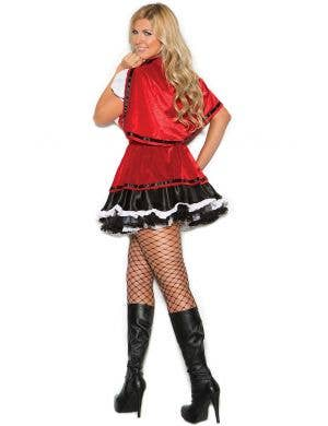 Storybook Red Riding Plus Size Women's Costume