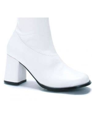 Go Go Women's 1960's White Long Costume Boots