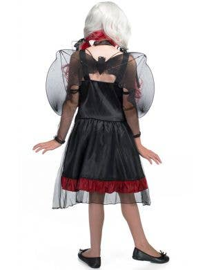 Gothic Bat Girl Kids Halloween Costume