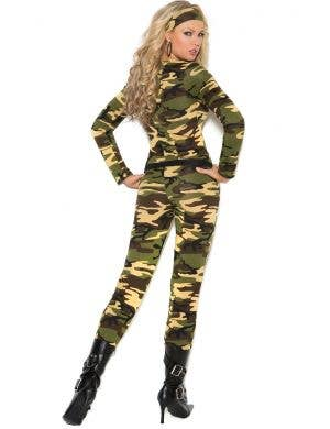 Army Combat Warrior Plus Size Women's Costume