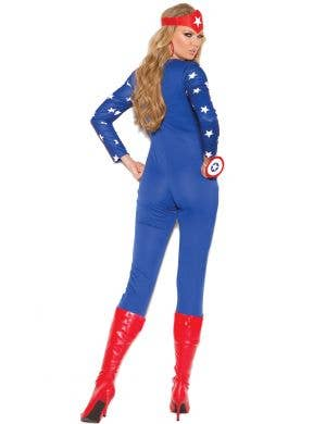 American Hero Sexy Women's Superhero Costume