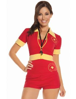 Beach Patrol Sexy Women's Lifeguard Costume