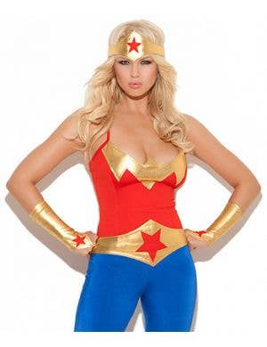 Super Hero Sexy Women's Costume