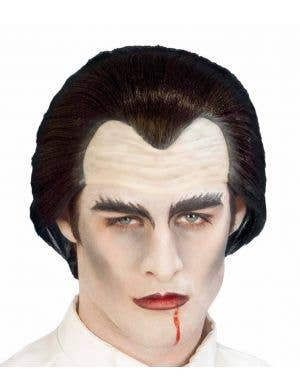 Halloween Vampire Headpiece Men's Wig