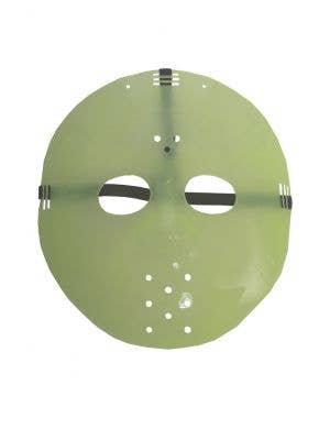 Glow in the Dark Hockey Mask Costume Accessory