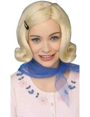 Bopper Blonde Women's 1950s Bob Wig