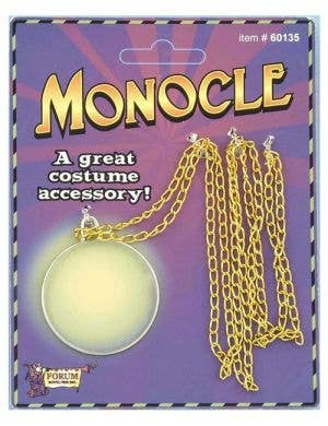 Gentleman's Monocle Novelty Costume Accessory