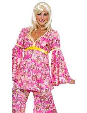 Flower Power Women's 1970's Hippie Costume