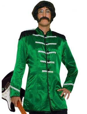 British Explosion Men's Green Beatles Costume