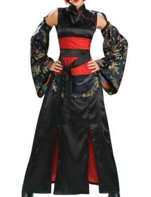Dragon Miss Teen Girls Samurai Costume