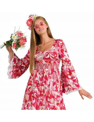 Flower Child Women's 1970's Hippie Costume