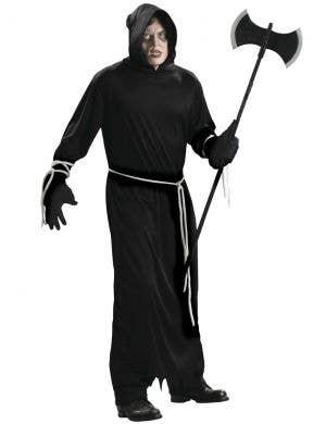 Death Robe Men's Cheap Halloween Costume
