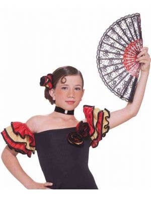 Sassy Spanish Dancer Girls Costume