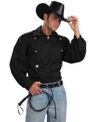 Tex Men's Wild West Costume Shirt