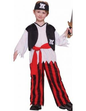 Buccaneer Pirate Budget Boys Costume