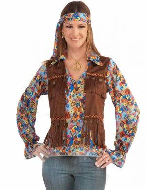 Groovy Hippie Women's 1960's Costume