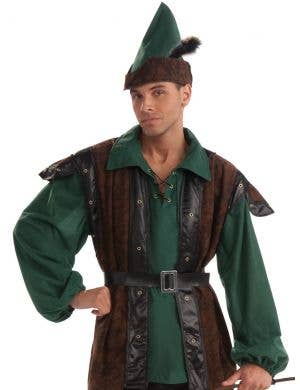 Robin Hood Hunter Deluxe Men's Costume