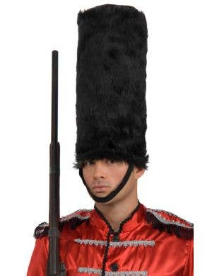 English Guard Men's Tall Black Hat Costume Accessory