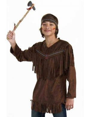 Native Indian Teen Boys Costume